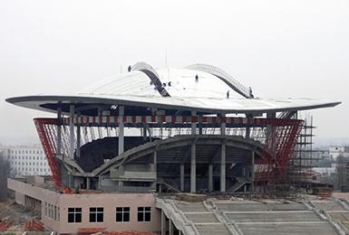 河南大学体育馆工程