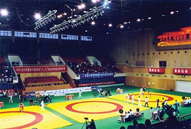 宁夏银川体育馆内景