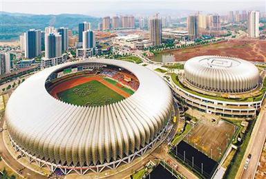 重庆市綦江体育馆